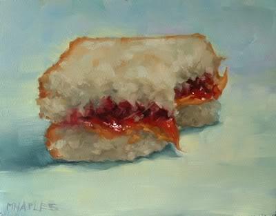 """PB & J No.7"" original fine art by Michael Naples"