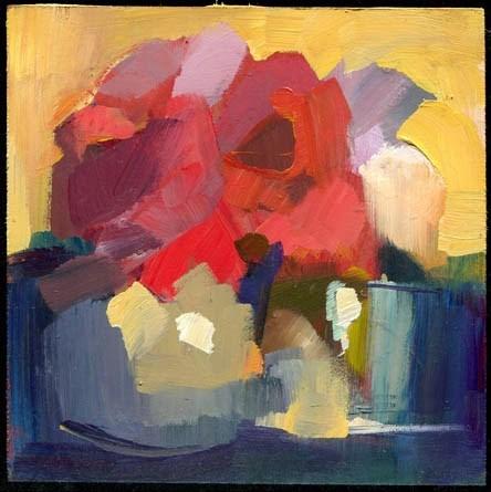 """2029 ruby"" original fine art by Lisa Daria"