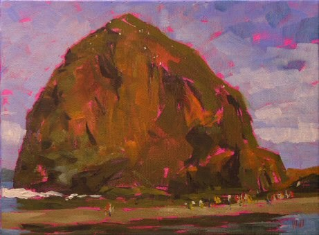 """""""South of Haystack"""" original fine art by Mary McInnis"""