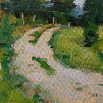 """The Way Home 2"" original fine art by Carol Marine"