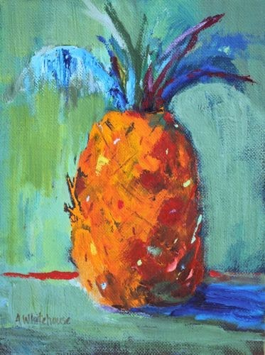 """Hospitality 25, Contemporary Still Life Paintings by Arizona Artist Amy Whitehouse"" original fine art by Amy Whitehouse"