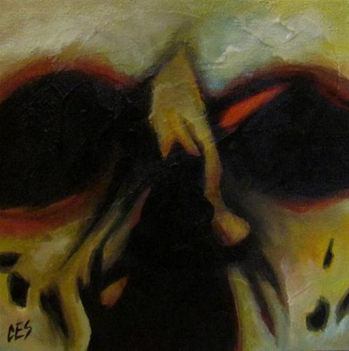 """Demon"" original fine art by ~ces~ Christine E. S. Code"