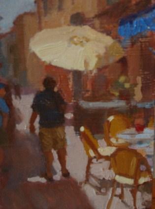 """""""Sur la Sorge"""" original fine art by Bruce Bingham"""