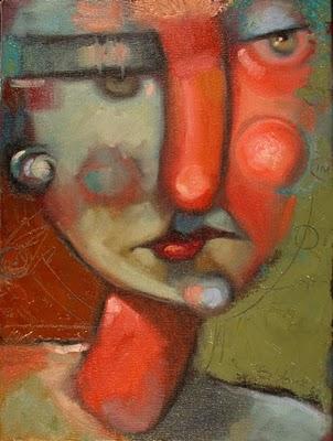 """InsideOut #1"" original fine art by Brenda York"