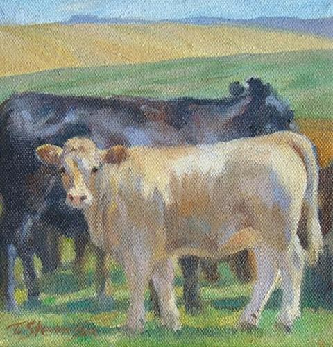 """Buttercup"" original fine art by Trish Stevenson"