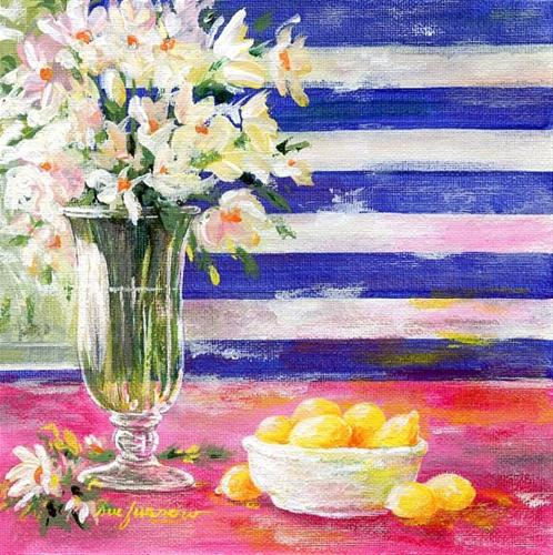 """Lemons"" original fine art by Sue Furrow"