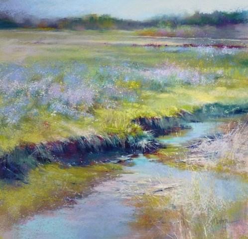 """""""Life on the Edge"""" original fine art by Barbara Benedetti Newton"""