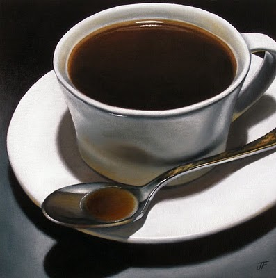 """A Winter Cup"" original fine art by Jelaine Faunce"