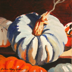 """The October Blues"" original fine art by JoAnne Perez Robinson"