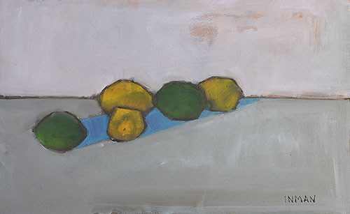 """Lemons and Limes"" original fine art by Kevin Inman"
