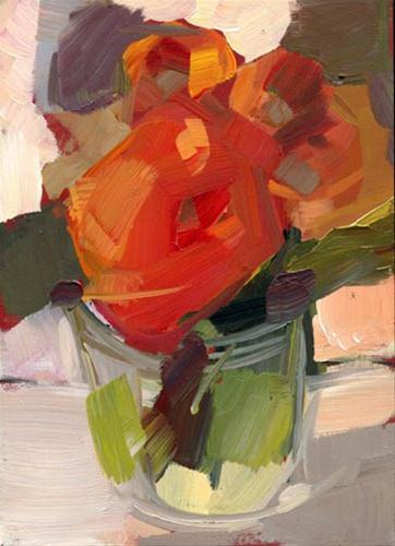"""1216 Roll Over"" original fine art by Lisa Daria"