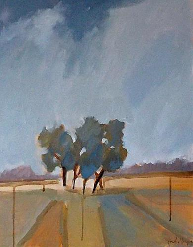 """Grove II"" original fine art by Pamela Munger"