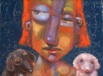 """What Now?"" original fine art by Brenda York"