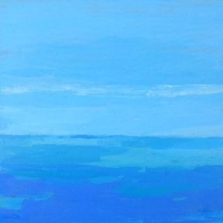 """Ocean Hues"" original fine art by Bobbi Heath"