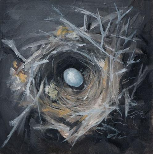 """Nest"" original fine art by Clair Hartmann"