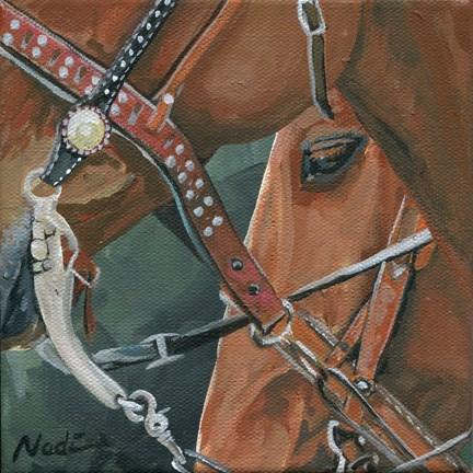 """Roping Horses"" original fine art by Nadi Spencer"