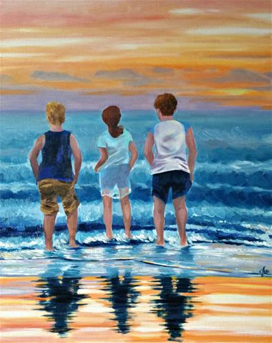 """Making Memories"" original fine art by Dana C"