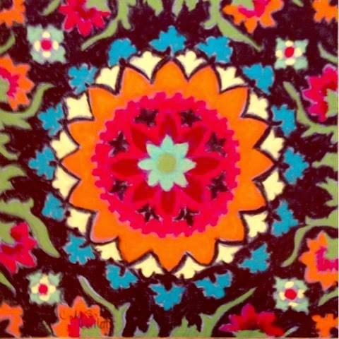 """A Splash of Color"" original fine art by Cindy Gillett"