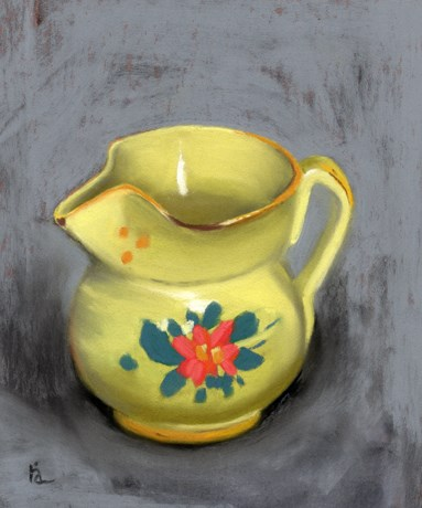 """Tiny Vase"" original fine art by Ria Hills"