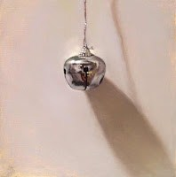 """Silver Bell painting"" original fine art by Abbey Ryan"