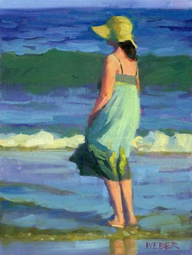 """Soft Breeze"" original fine art by Kathy Weber"