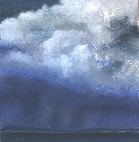 """Irish Cloudscape V"" original fine art by Joe Fitzgerald"