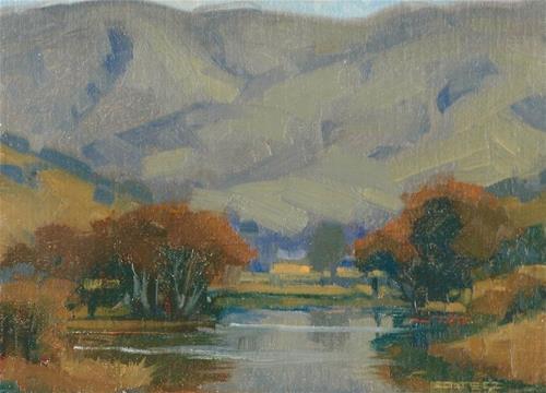 """The wetlands"" original fine art by J. Thomas soltesz"