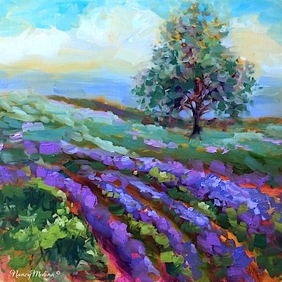 """Painting Under the Tuscan Sun - A Tuscany, Italy Workshop by Nancy Medina"" original fine art by Nancy Medina"
