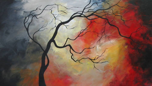 """Twisted"" original fine art by ~ces~ Christine E. S. Code"