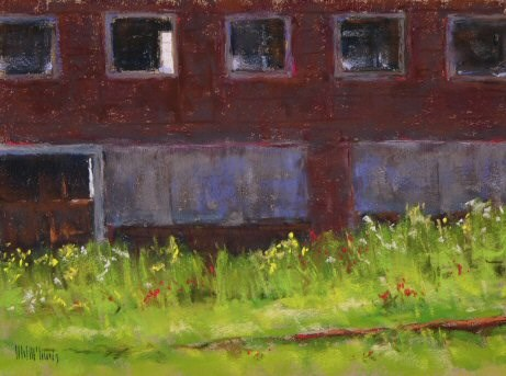 """""""All Boarded Up"""" original fine art by Mary McInnis"""