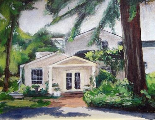 """Front Porch 2 (revisited)"" original fine art by J. Farnsworth"