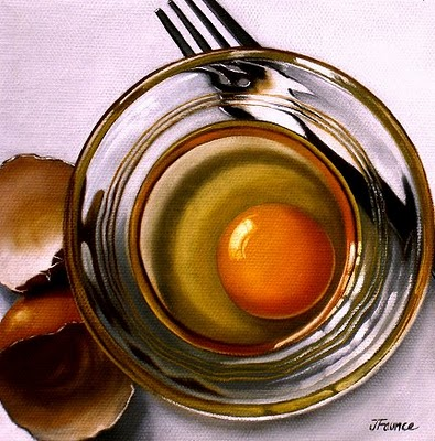 """Egg #9"" original fine art by Jelaine Faunce"