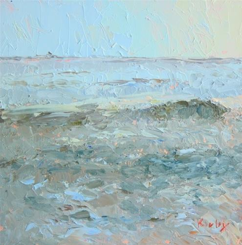 """Sea Impression"" original fine art by Randall Cogburn"