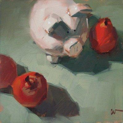 """Passing Through"" original fine art by Carol Marine"