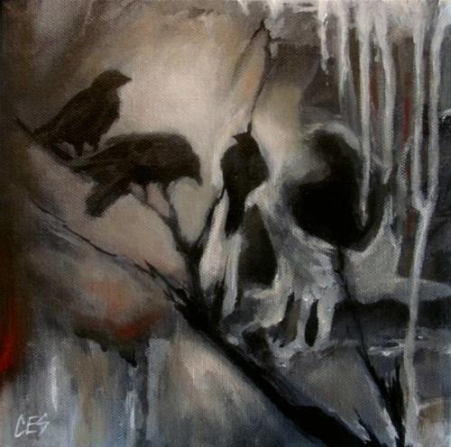 """Murder"" original fine art by ~ces~ Christine E. S. Code"