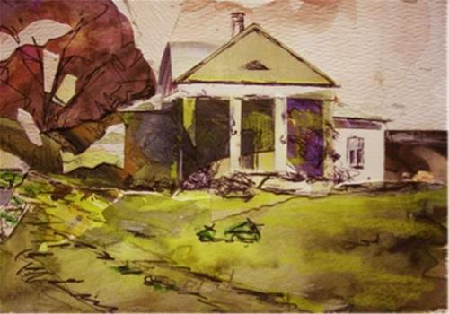"""Ole Homestead"" original fine art by Katie Wilson"
