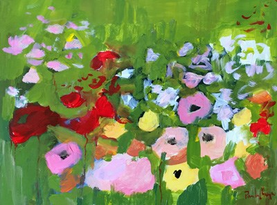 """Flower Field II"" original fine art by Pamela Munger"