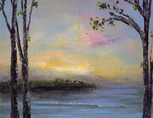 """The Cove"" original fine art by christina glaser"