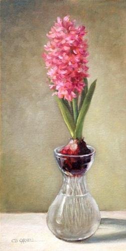 """""""A HINT OF SPRING An Original Oil Painting by Claire Beadon Carnell"""" original fine art by Claire Beadon Carnell"""