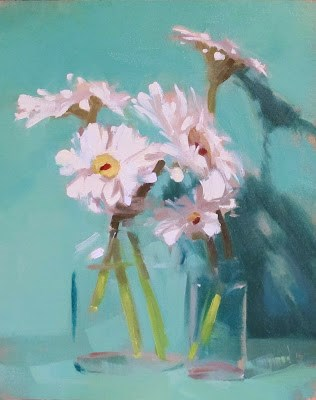 """CRISP"" original fine art by Helen Cooper"