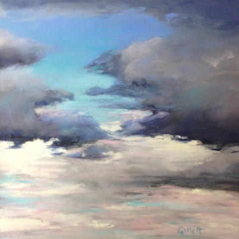 """The Clearing"" original fine art by Cindy Gillett"