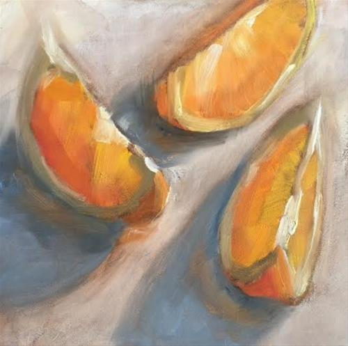 """I Ate Them 477"" original fine art by Laura  Buxo"