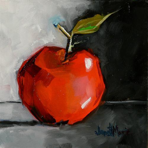 """Winesap Number 33"" original fine art by - JanettMarie"