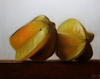 """Star Fruit"" original fine art by Jonathan Aller"