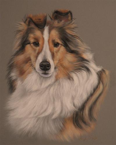 """""""Puppet"""" original fine art by Cheryl Plautz"""