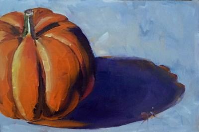 """""""Jack-o'-latern"""" original fine art by Gigi De"""