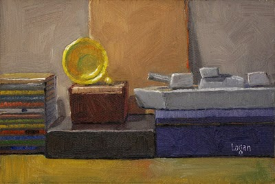 """Still Life Landscape #8"" original fine art by Raymond Logan"