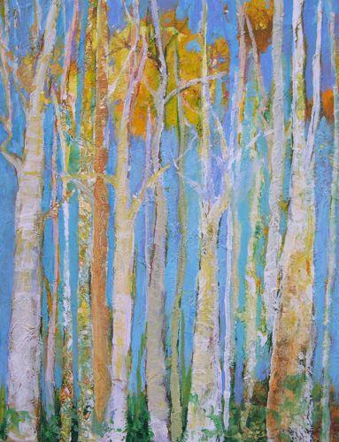 """ASPEN, 16x20 Oil"" original fine art by Amy Whitehouse"