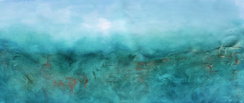 """""""Sea Treasure"""" original fine art by K R Moehr"""