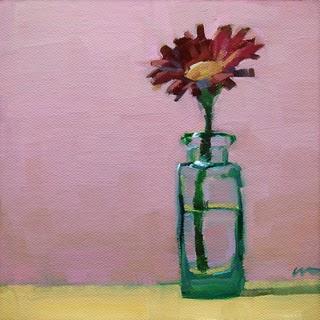 """Pink & Sassy --- SOLD"" original fine art by Carol Marine"